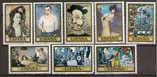 ESPAÑA Edifil # 2481-2488 Pintura Picasso 1978