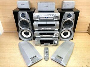 Technics Hi Fi SA-DV280 5 DVD/CD Changer Amp Cassette AM/FM separate hi end