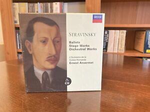 Stravinsky: Ballets, Stage Works, Orchestral Works (8CD) Ansermet OOP NEW/SEALED