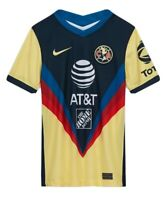 Nike Club America 2020/21 Stadium Home Soccer Jersey large CD4496 youth unisex