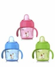 3 ADVENT CUPS X3 ADVENT 200ml SOFT SPOUT, BABY BOY/GIRL CUP FOR 6mths PLUS  X3..