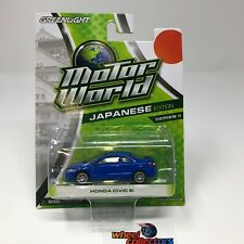 Honda Civic Si *  BLUE * Greenlight Motor World * ZD12