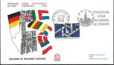 2050++FDC ENVELOPPE FLAMME 1° JOUR   ELECTIONS EUROPEENNES