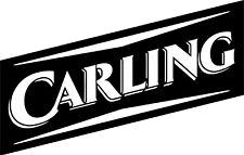 MEDIUM CARLING IMAGE VINYL STICKER, DECOR, FOR WALL, GARDEN BAR, MAN CAVE