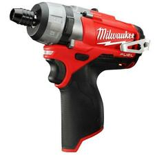 "Milwaukee 2402-20 M12 FUEL 12V 1/4"" Hex 2-Speed Screwdriver w/Clip - Bare Tool"