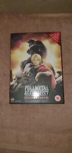 Fullmetal Alchemist Brotherhood Complete Series Anime DVD