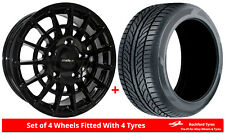 """Alloy Wheels & Tyres 18"""" Calibre T-Sport For Land Rover Discovery Sport 14-16"""