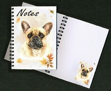 French Bulldog Notebook / Notepad with small image on every page - By Starprint