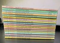Walt Disney Mickey's Young Readers Library 18 Books 1990 Bantam Books