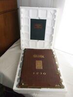 Prachtbuch BIBEL BIBLIA MATTHÄUS MERIAN KUPFERBIBEL NT 1630 FAKSIMILE AUSGB 2005