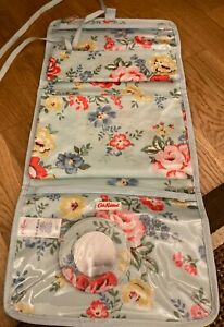 Cath Kidston wash bag roll snap out bags and mirror new