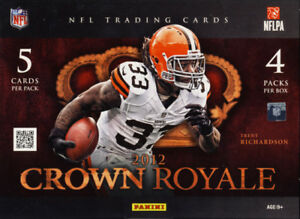 2012 Panini Crown Royale Football Complete Your Set Pick 25 Cards From List