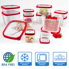 24tlg. Vorratsdosen Set mit Deckel Frischhaltedosen Aufbewahrungsdose BPA frei