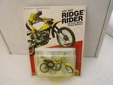 "New listing 1980 Zee Diecast 3"" Long Yamaha 400Mx Dirt Bike Ridge Rider New On Card"