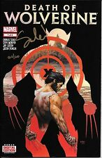 Death of Wolverine # 1 Signed by Charles Soule Dynamic Forces  NM+ COA 212/500