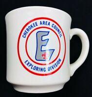 Vtg Boy Scout BSA Cherokee Area Council Chattanooga TN Ceramic Coffee Mug