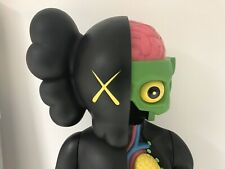 Kaws Dissected  Companion schwarz 4 Foot Kunst Figur Authentic