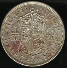 More details for 1946 george vi silver half crown   british coins   pennies2pounds