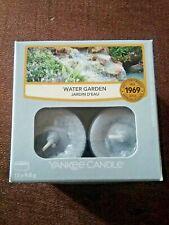 Yankee Candle Tea Lights - water garden - box of 12