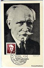 France Carte Maximum  1949 PAUL LANGEVIN    Yt 820