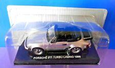 DIE CAST PORSCHE 911  TURBO CABRIO 1986 SCALA 143