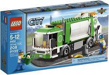 LEGO CITY 4432 GARBAGE TRUCK CAMION SPAZZATURA NETTEZZA URBANA spazzini 2013