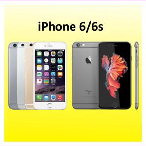 Apple iPhone 6/6s 16GB 64GB 128GB Unlocked Verizon Go Mobile US Cellular 4G