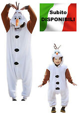 Frozen - Vestiti Carnevale Olaf  - Dress up Olaf Costumes  9978002-9999001