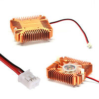Mini 55mm 2PIN Cooling Fan Heatsink Cooler Radiator for PC Computer CPU VGA Card
