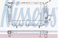 Nissens 63800 Radiator fit RENAULT R 4 (61-)