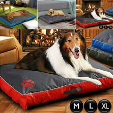 Dog Bed Mattress Waterproof Double Side Cushion Puppy Pet Washable Pillow Mat UK