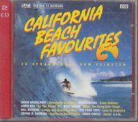 California Beach Favourites (1993, Columbia) David Hasselhoff, Bobby Br.. [2 CD]