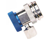 Robinair (18190A) R-134a Low Side Service Coupler with Blue Actuator