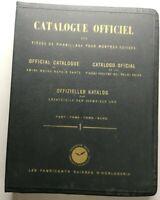 Rare Livre Ancien catalogue officiel pièces d'habillage montre suisse mido