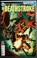 DEATHSTROKE #2 ANNUAL (2016 DC Comics) Comic Book NM