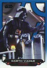 Star Wars Galactic Files 2018 Blue Base Card ESB-17 Darth Vader