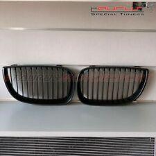 Griglie Calandra Mascherina BMW Serie 1 E87 E81 2004-2007 griglia Nera opaca