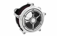 FILTRE A AIR RSD CLARITY STACKS CHROME HARLEY TOURING 08-15