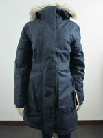 NWT Womens The North Face TNF Downtown Parka Warm Down Winter Jacket - Navy