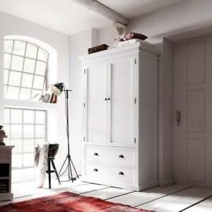 Halifax Wardrobe - White