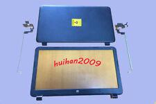 New HP 15-G018DX 15-G029WM 15-G013CL LCD Top case Back Cover Rear  +bezel+hinges
