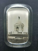Antique Glass Paperweight Pennsylvania State Memorial Gettysburg, PA