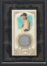 A.J. BURNETT 2012 ALLEN & GINTER RELICS GAME USED JERSEY $12