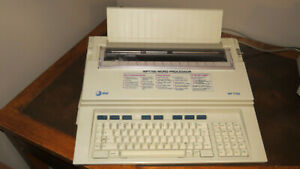AT&T WP7700 Word Processor, Electronic Typewriter
