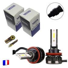2 ampoules Vega® Q3 H8 Full Leds COB 360° 6000 lumens 12V 24V