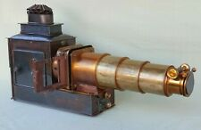 W.B. & Sons London Antique Magic Lantern Projector c1900 Converted to Electric