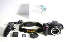 Nikon D3200 24MP Digitale Spiegelreflex Kamera Foto & Full-HD Video DSLR Body
