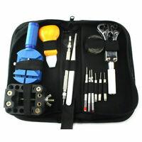Uhrmacherwerkzeug Uhr Werkzeug Reparatur Tasche Schwarz Bag 2019