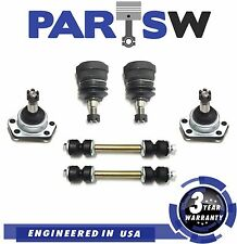 6Pc New Suspension Kit for Chevrolet GMC Isuzu Oldsmobile Pontiac Sway Bar Links