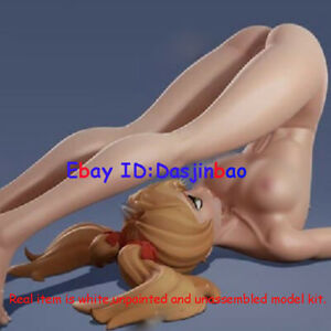 Lovely Girl With Dog 1/6 Figure 3D Print Model Kit Unpainted Unassembled No Coat
